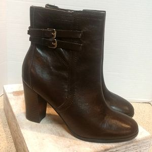 New  Marc Fisher  Size 8.5 Brown Leather Boots